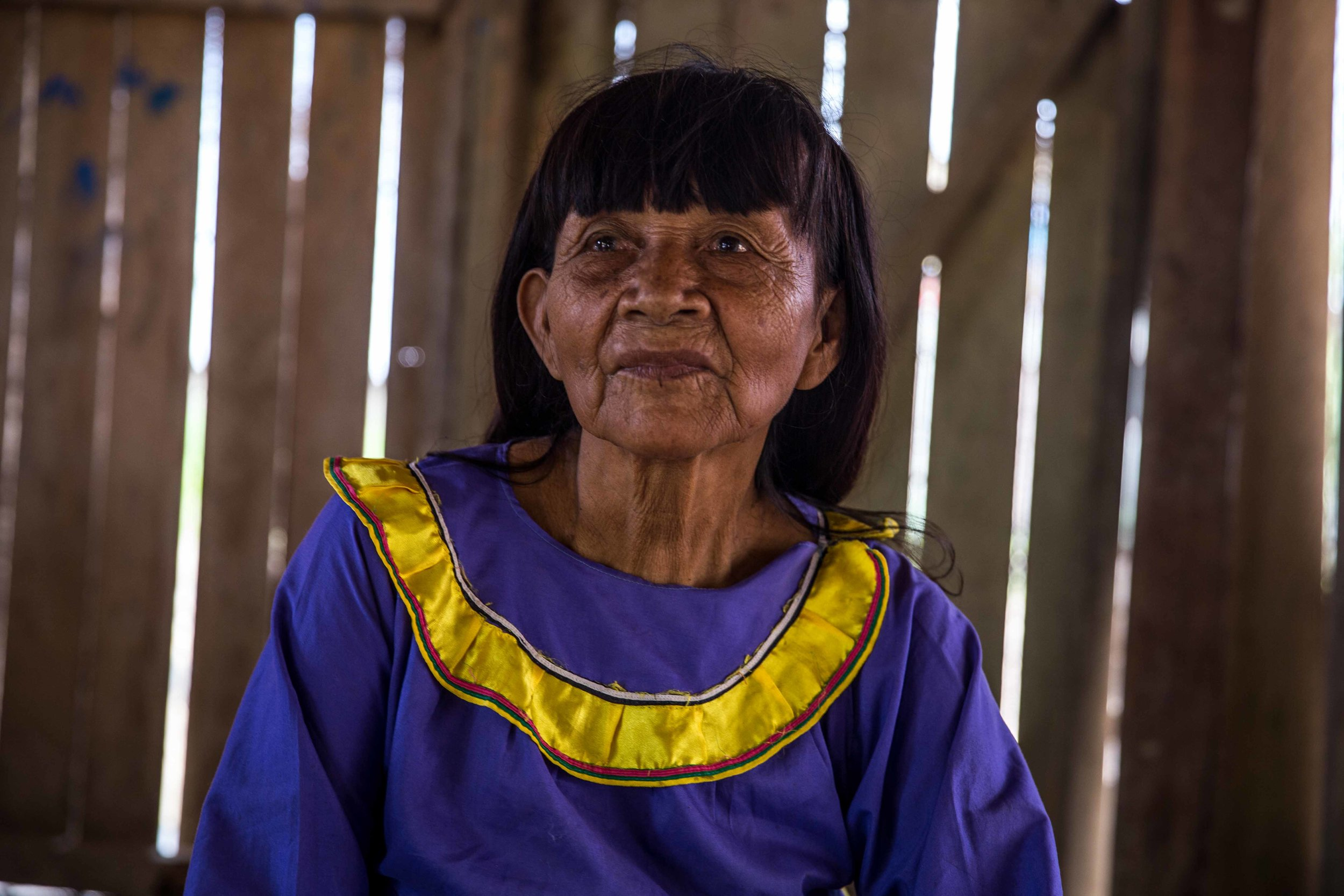 Lydia, cuyo nombre Shipibo es 'Pekon Rabi'