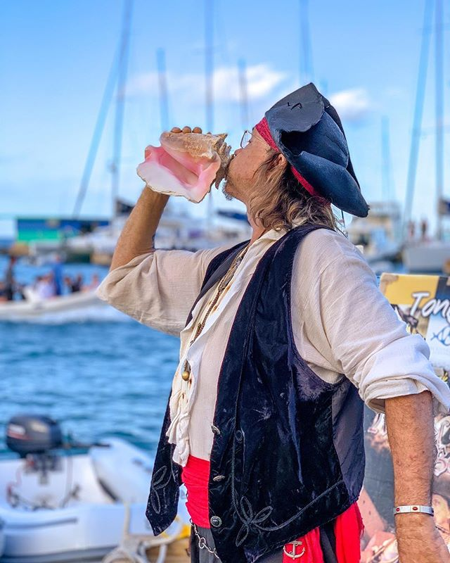 Only 3 shows left for this season! Add Leverick Bay Resort & Marina in your itinerary and enjoy Happy Arrr with Michael Beans! 💀  Show time: 5 pm - 7 pm. Please claim your table by 4:45pm For reservations: Call 1 (284) 346 7241, 1 (284) 541 8879, 1 (284) 340 3005 or email: harris@leverickbayrestaurant.com Web: www.leverickbayvg.com #LeverickBay #BVI #VirginGorda #ilovevirgingorda #leverickbayresort #michaelbeans