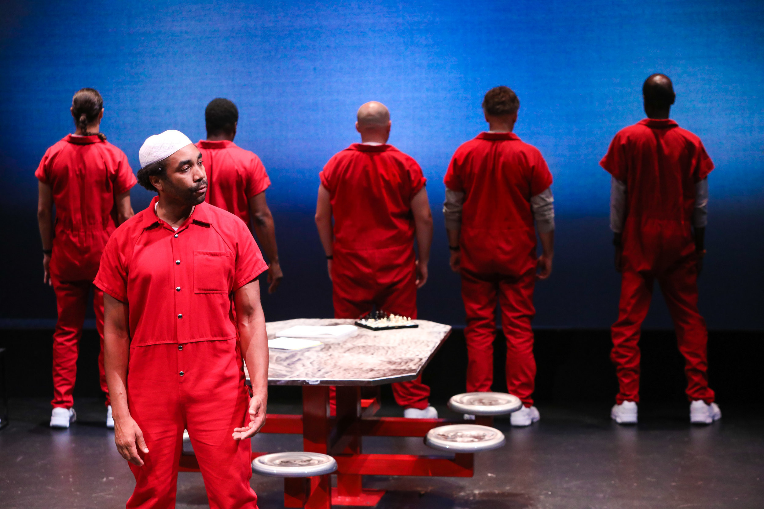 PERFORMANCE - COUNTStories from America's Death Row. A full-length play written by Lynden Harris and directed by Kathryn Hunter-Williams, premiered by PlayMakers Repertory Company. Supported by a MAP Fund award.Photo: World premiere PlayMakers Repertory Company