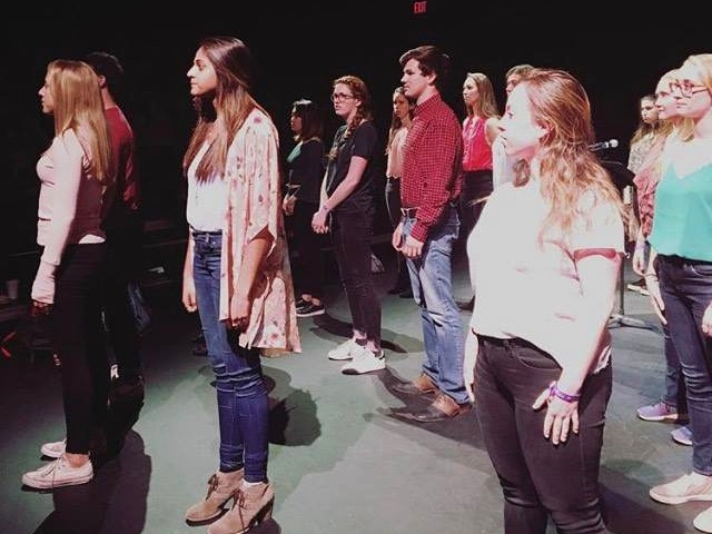 PERFORMANCE - These courageous, thoughtful, and generous students shared painful, challenging, and triumphant stories last night during the final performance for Stories for Social Change: Confronting Sexual and Domestic Violence at Duke and in Durham. We celebrated our collective capacity to end violence.#wearehereusa#wearehereduke photo by Katerena DePasquale
