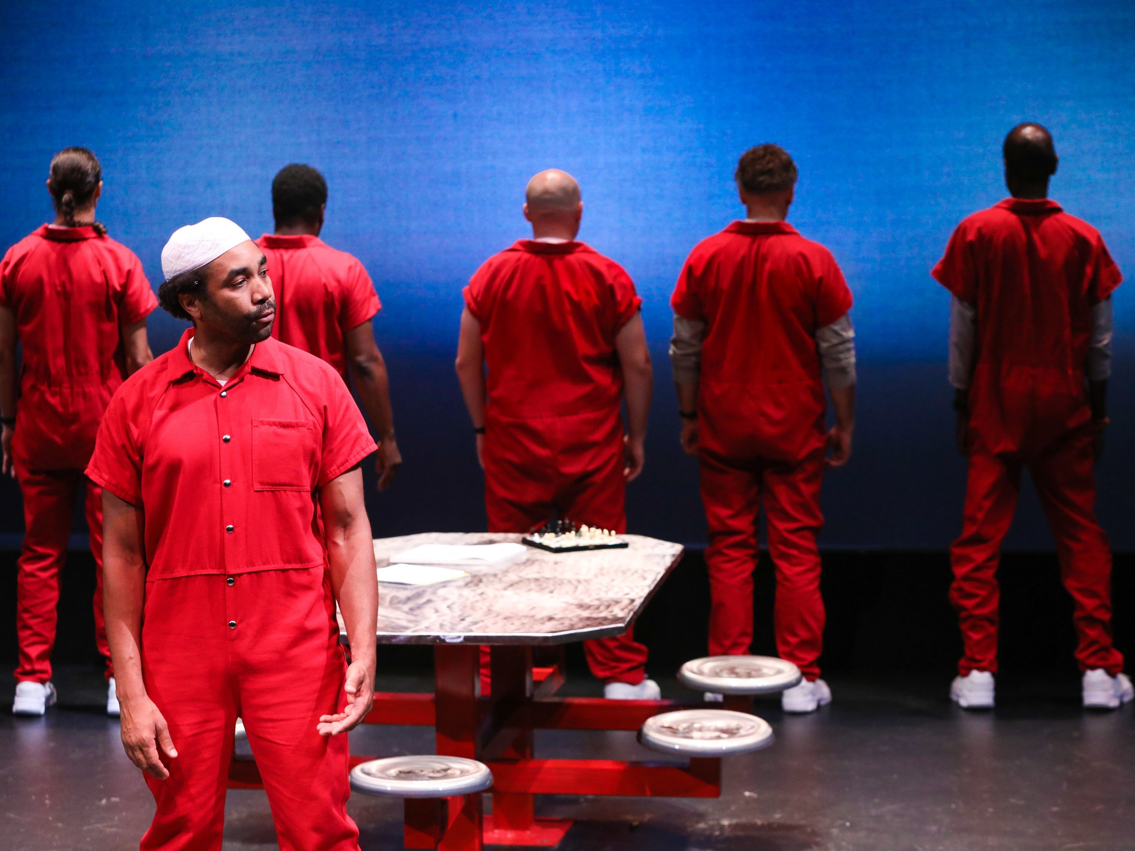 COUNT: - Stories from America's Death Row. A full-length play written by Lynden Harris and directed by Kathryn Hunter-Williams, Supported by a MAP Fund award.