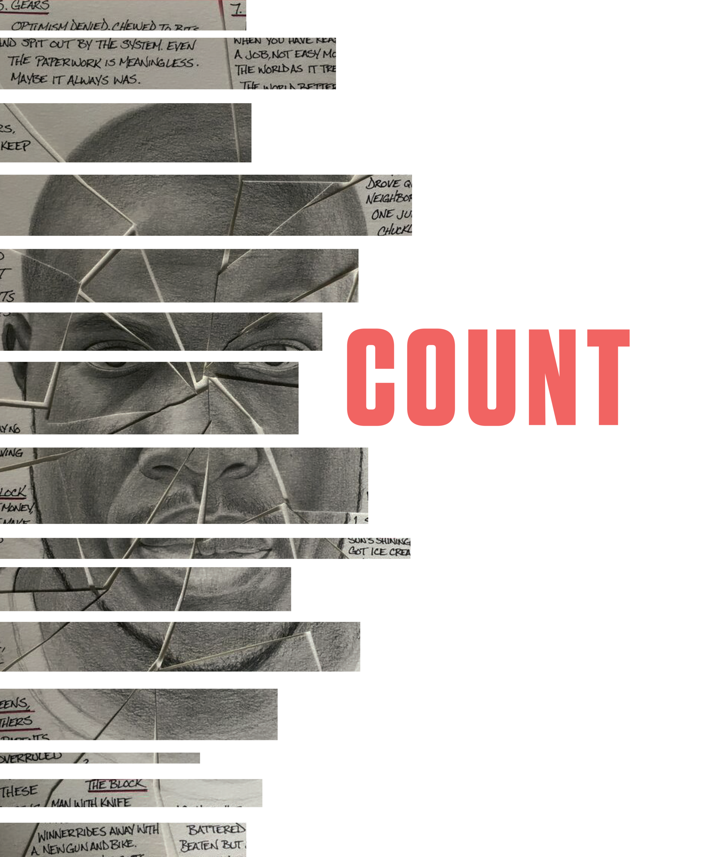 "COUNT: The Conversation - A ""digital tour and toolkit"" created in partnership with PlayMakers Repertory as an avenue for venues to participate in an evening of conversation and community readings of RIGHT HERE, RIGHT NOW."