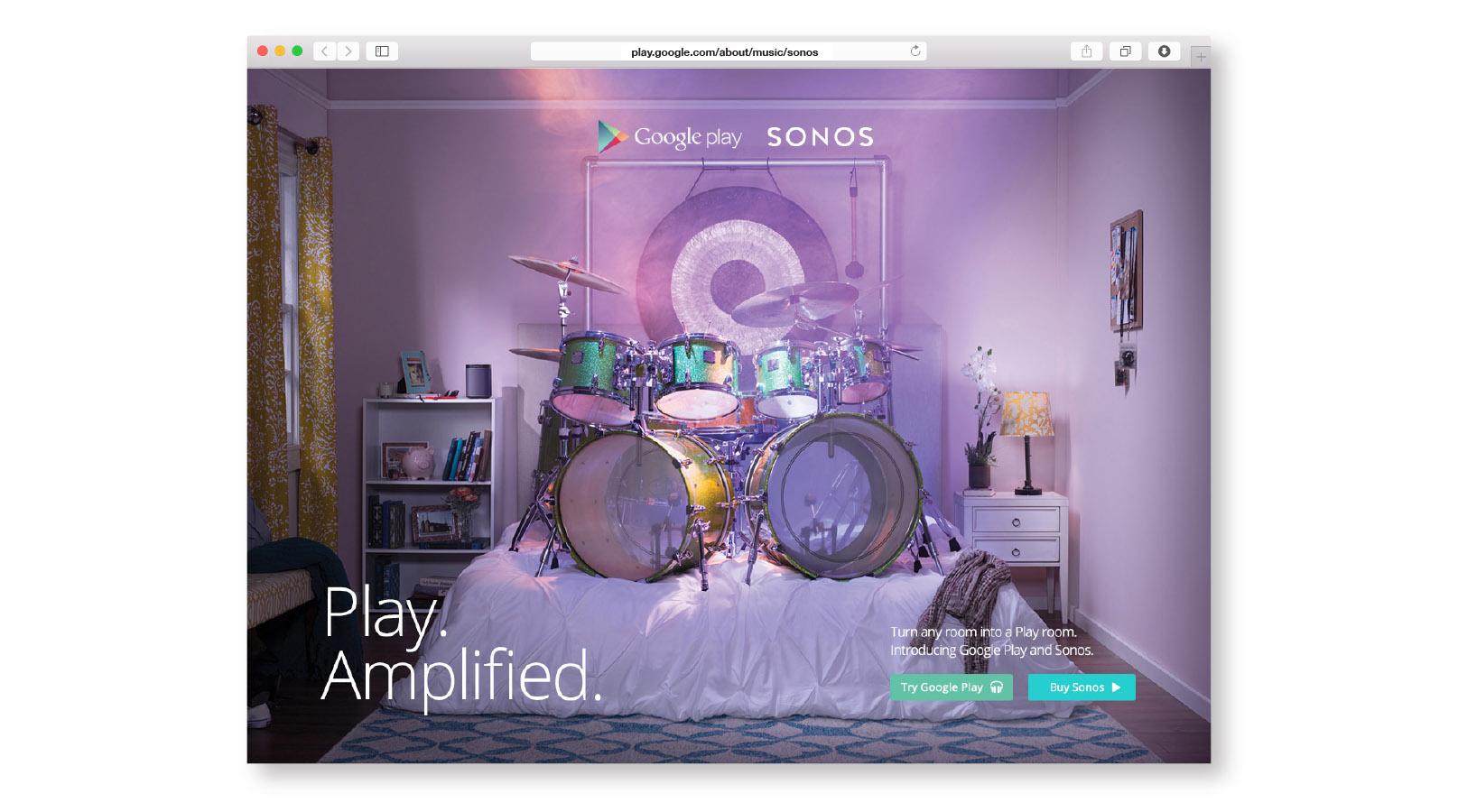 Google Play and Sonos – Gaston Yagmourian