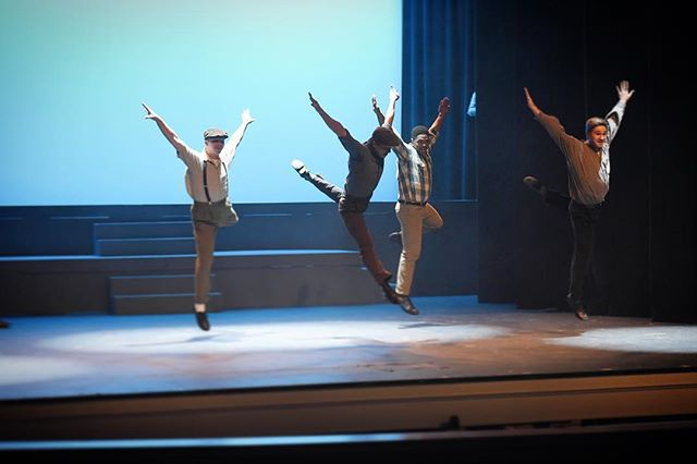 Hey! Come to our second weekend of On The Town (March 23rd-25th) to see if I learn how to not look at the floor when I dance!