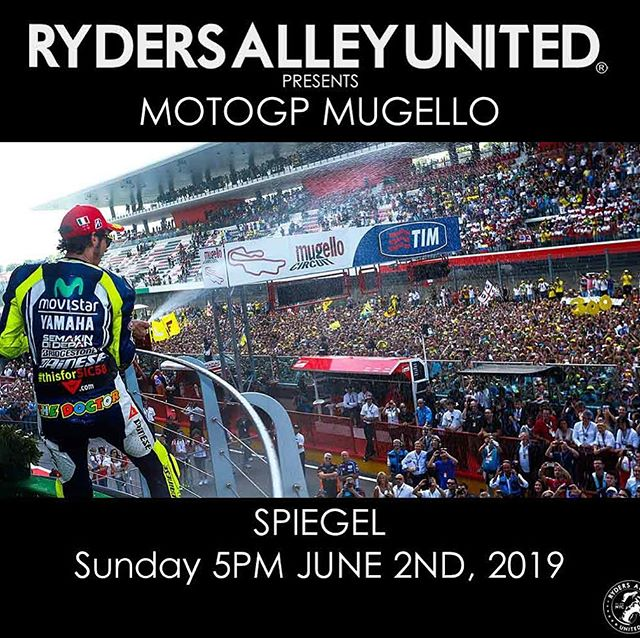 Come join us today at 5pm! #motogp2019 #mugellocircuit