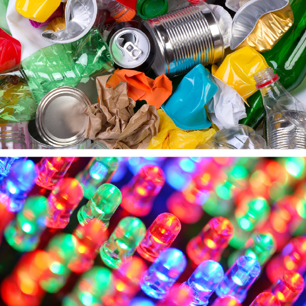 Mediums - Recyclables & LEDs