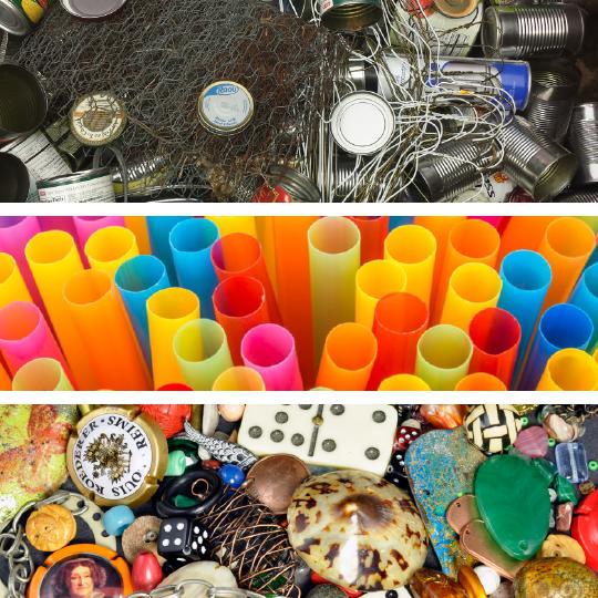 Mediums - Metal, Plastic, & Found Objects
