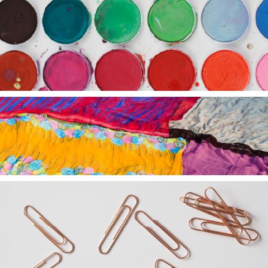 Mediums - Paint, Fiber, Wire