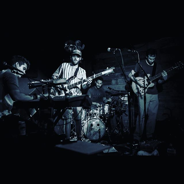 Suit of the Moon. #moonsuit #amnesia #rock #sf #localmusic #drums #keys #bass #guitar