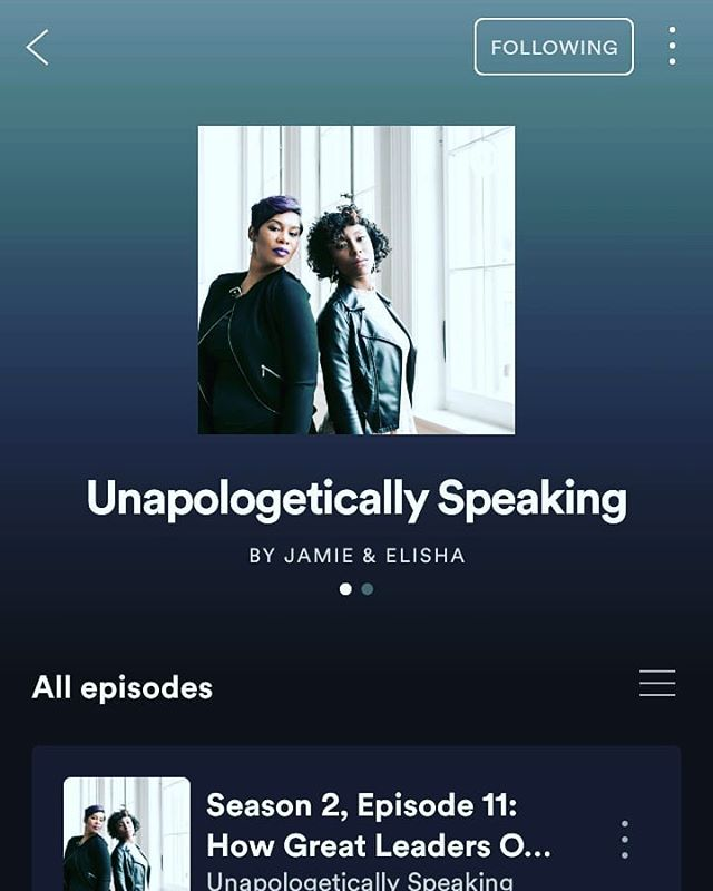 We're still here. We haven't gone anywhere. We're changing, transforming, and progressing. So, stay tuned for season three airing in August 2019! In the meantime, catch up on seasons one and two on Spotify and Apple Podcast. We'll see ya soon! #Unapologeticallyspeaking #TimeToGoHigher #TheRealLevelUp