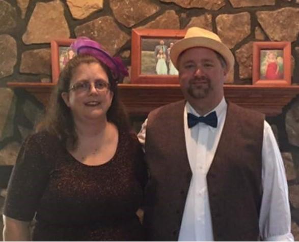Charlene and Steve Wheeler attending SML Rotary's NATR Fundraiser 2017