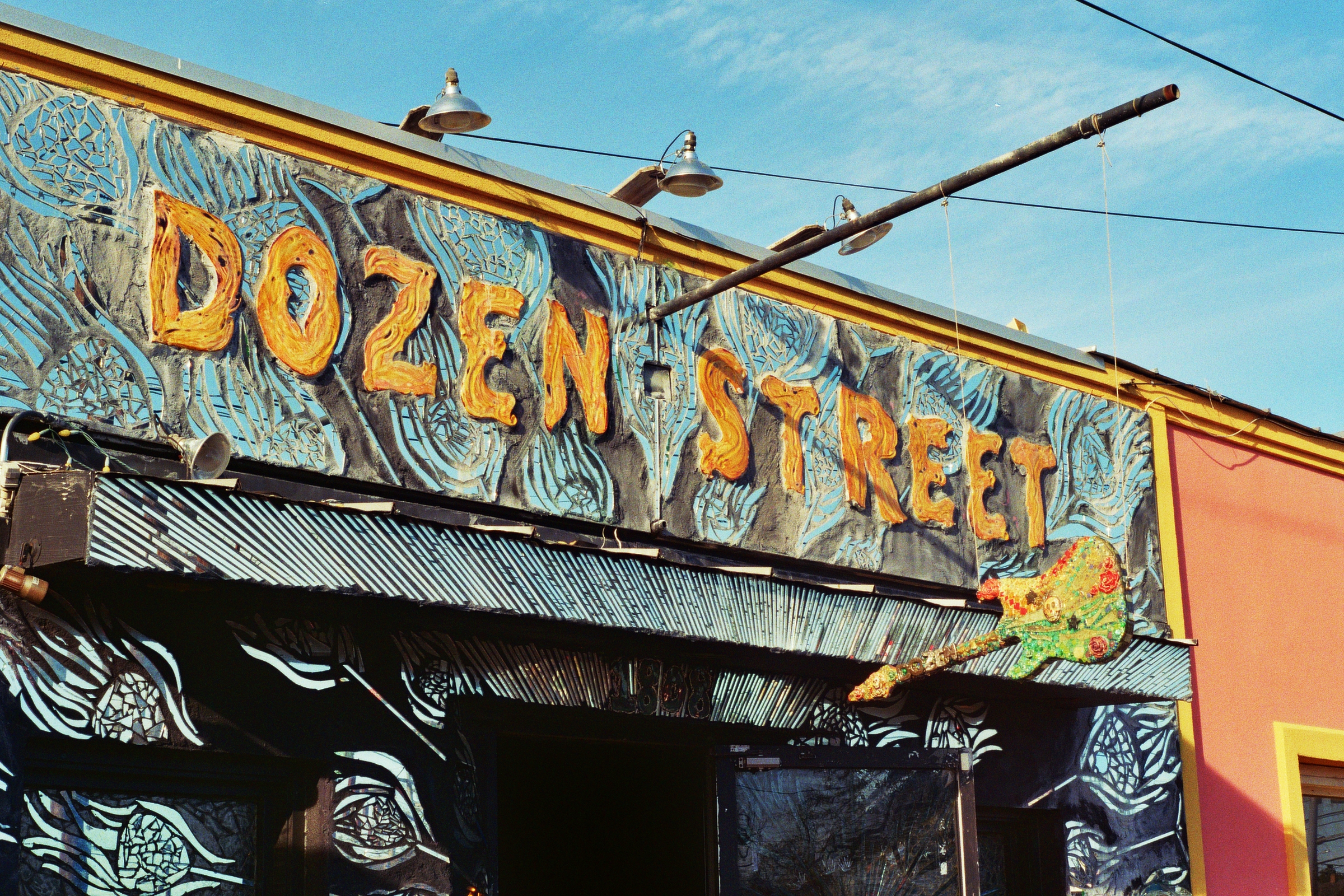 Dozen Street, one of the cooler bars I saw during my time in town.  East Austin, TX