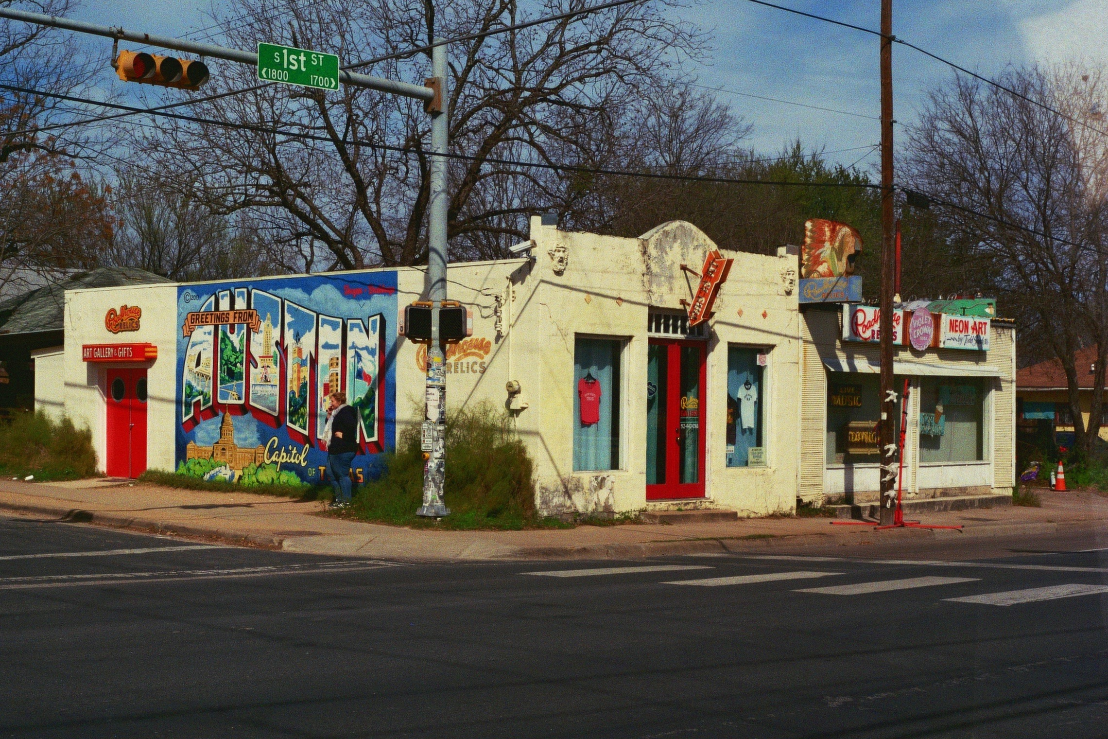 A classic spot for taking photos to prove you visited Austin.