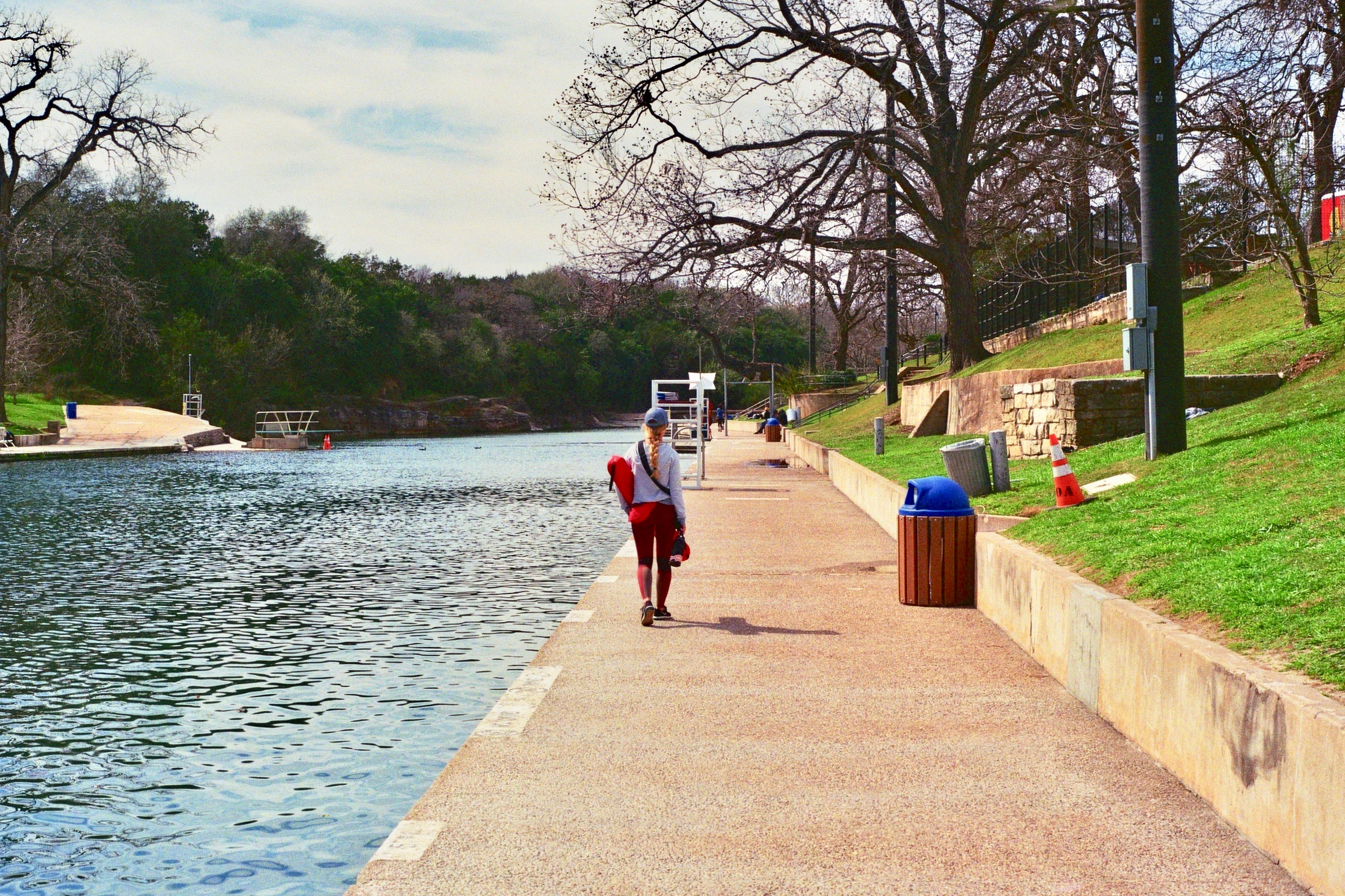 Barton Springs Pool.  Austin, TX