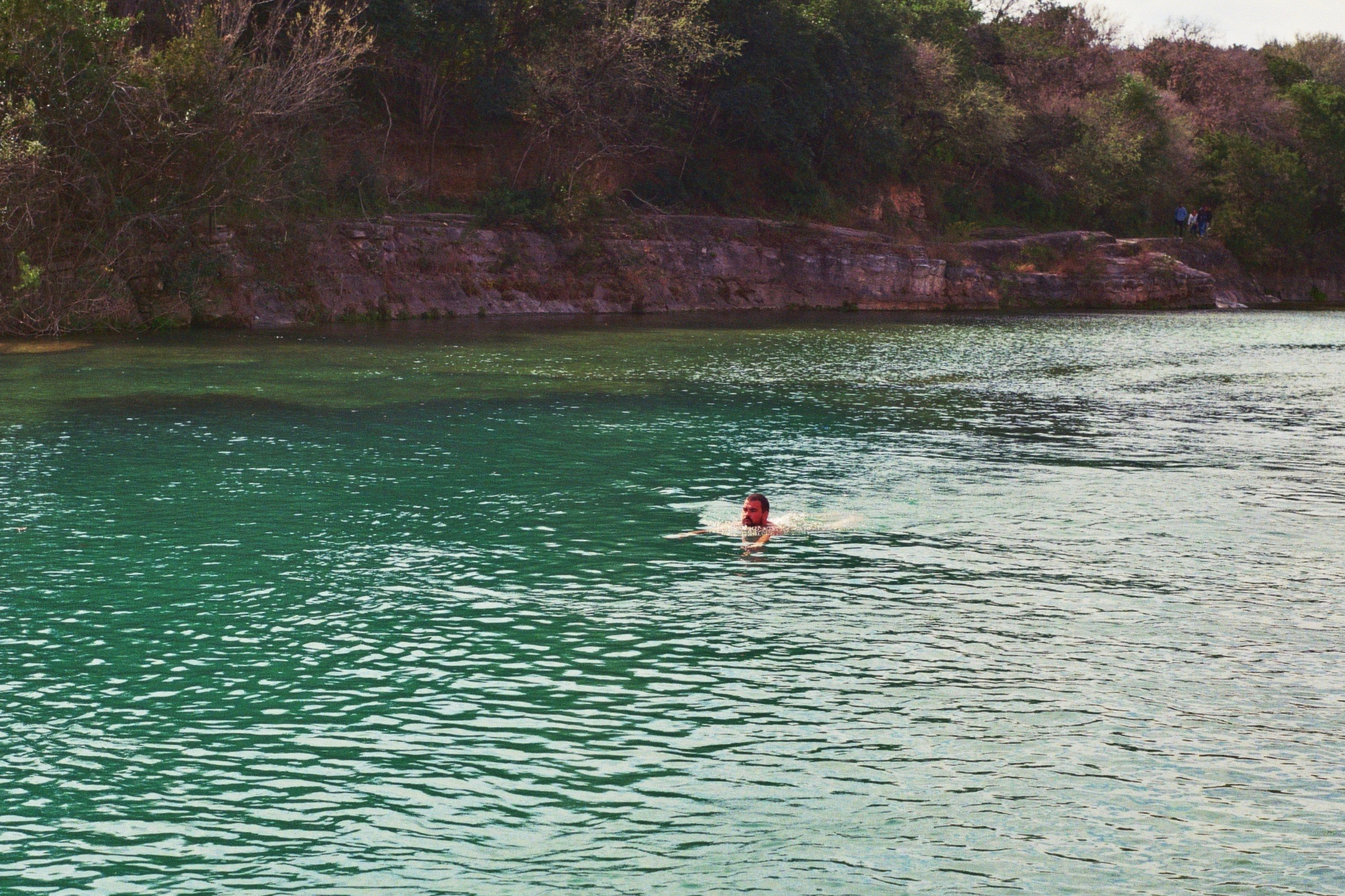 Barton Springs Pool . Austin, TX