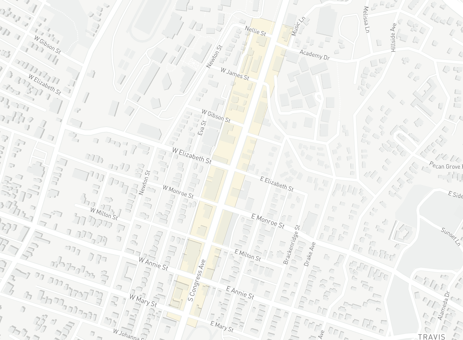Area of interest 2: South Congress