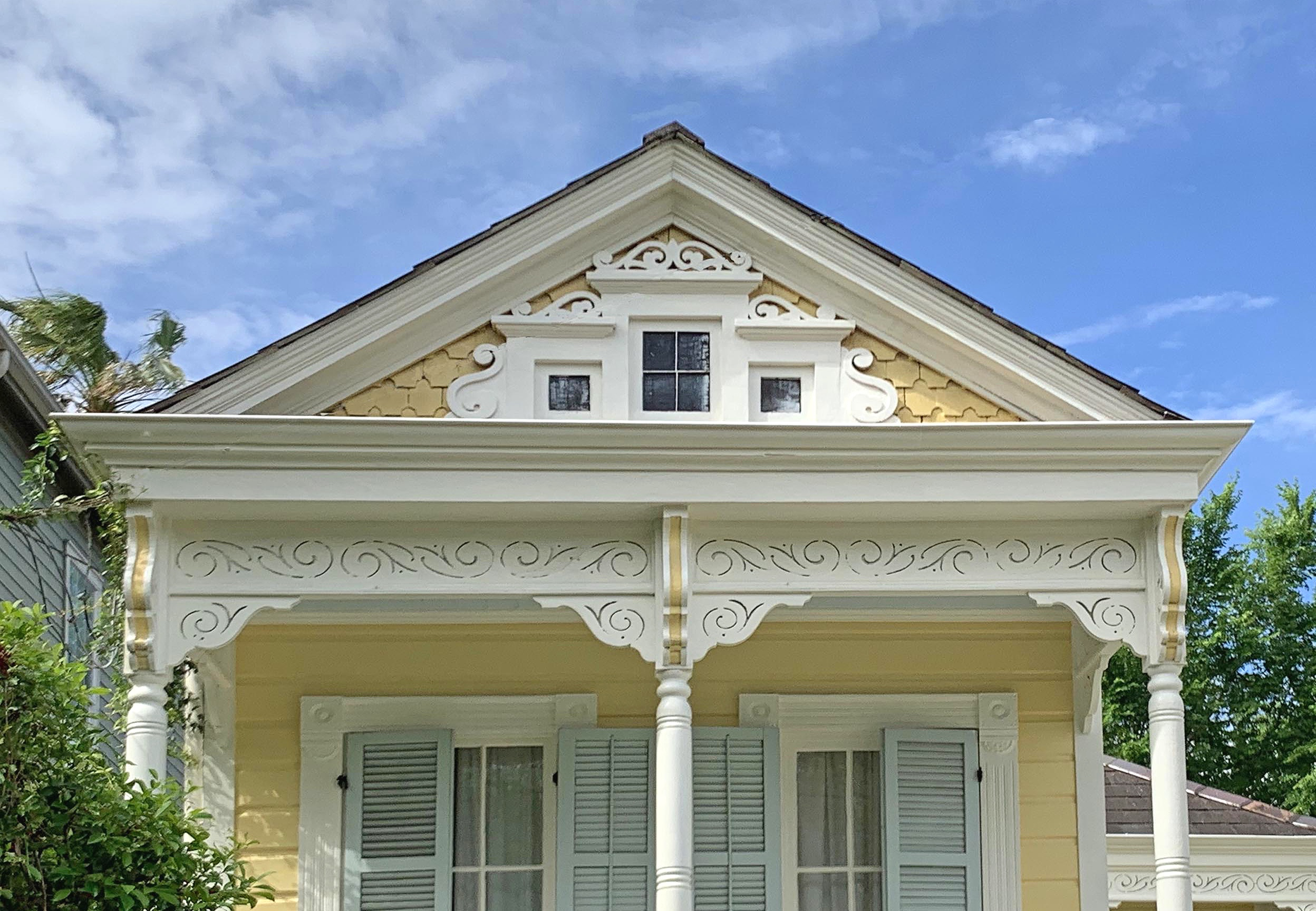 This photo won the Preservation Resource Center's photo challenge for architectural details in New Orleans.