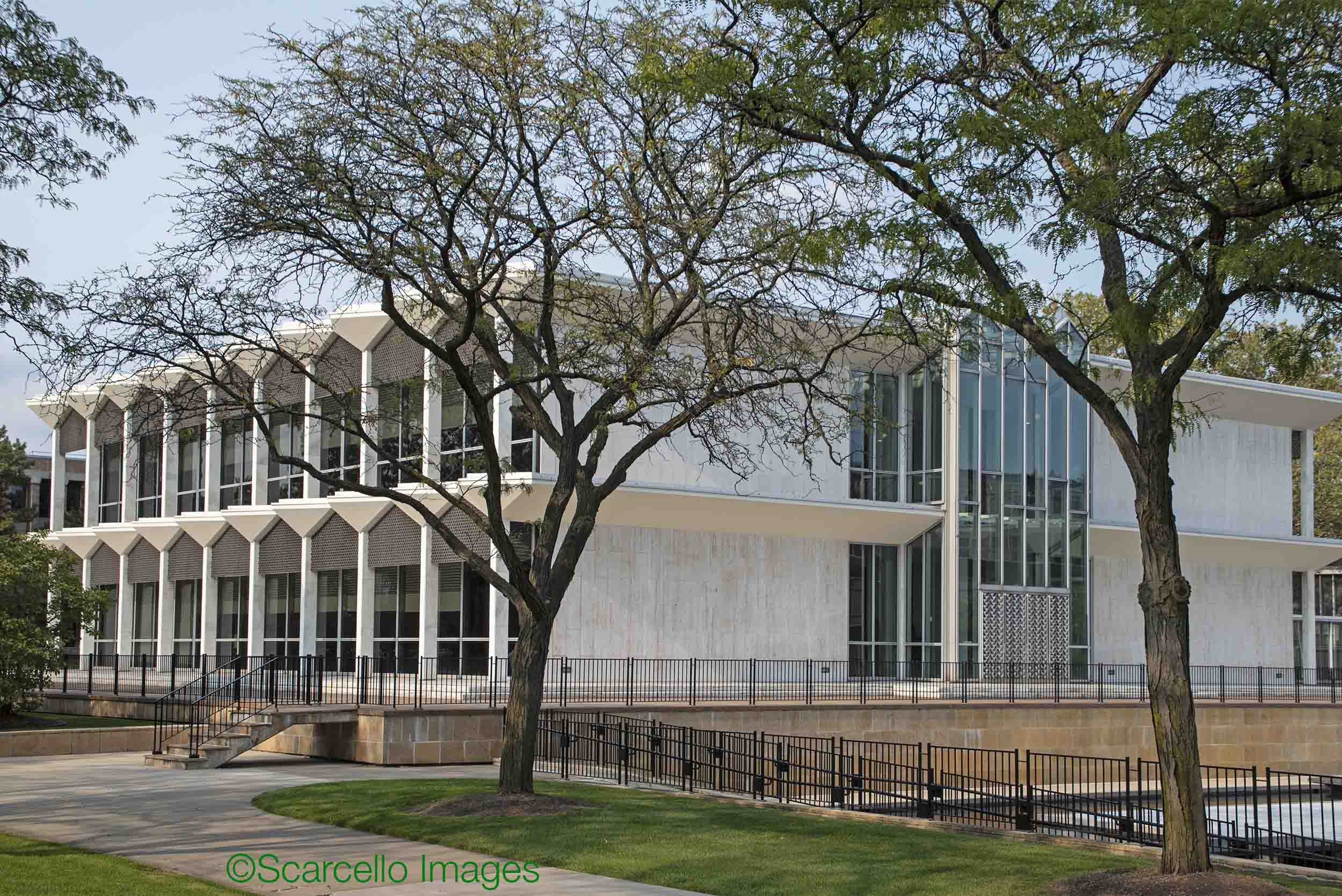 McGregor Memorial conference Center at Wayne State University | Detroit 1958