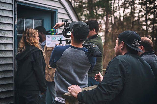 A little behind the scenes from last weekend's shoot! . . . . . . #cinematography #film #bts #sonya7s #zeen #shoulderrig #handheld #shortfilm @tylerfalt15 📷: @sarahmgloria