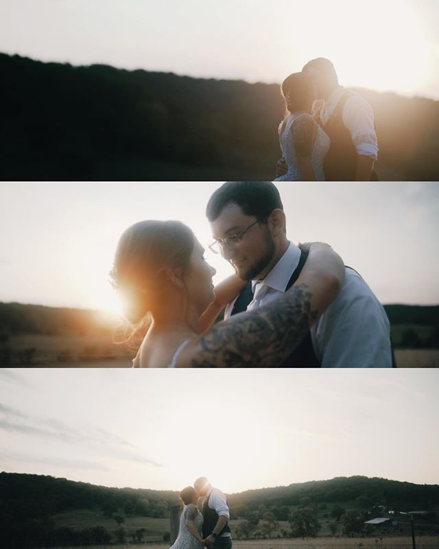 stay gold ponyboy . . Such an amazing weekend. We love being able to film down at @littlepineylodge! Those gold and green hues are so amazing, and their fields for sunset photos can not be beaten . . #wedding #weddingfilm #cinematography #littlepiney #goldenhour #hermann #missouri @lutify #rokinon85mm #rokinon24mm @rokinon @sonyalpha #a7sii @tylerfalt15 @davidbskaggs