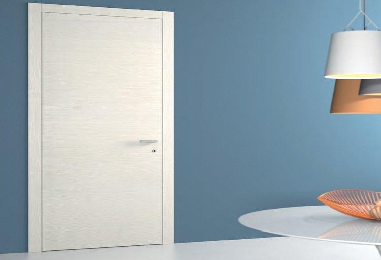 Porte In Larice Bianco.Doors Abitare Italia