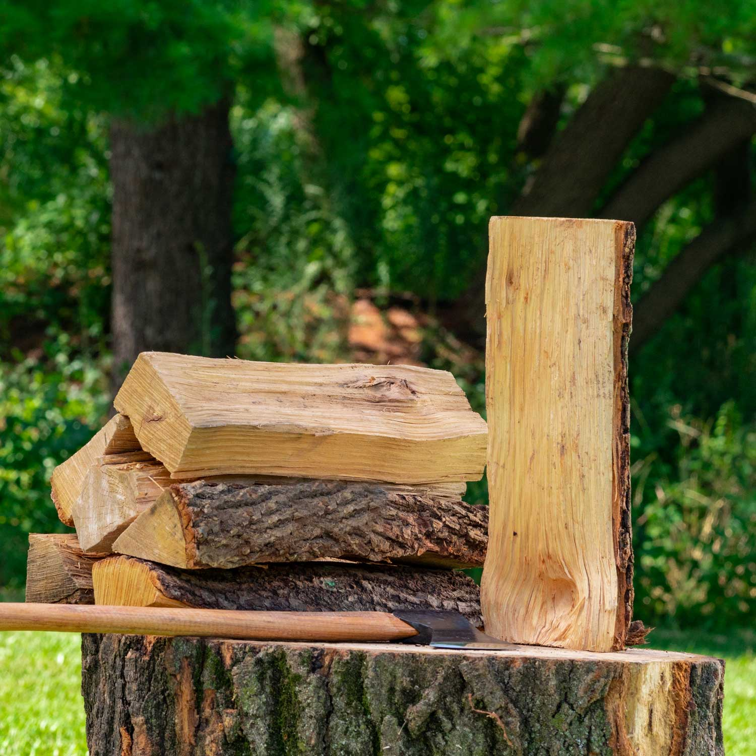 Hickory firewood - $59 $104 $169There are a lot of people who agree that hickory firewood is one of the best there is for burning. Hickory is even hotter burning than oak, maple and other popular woods.