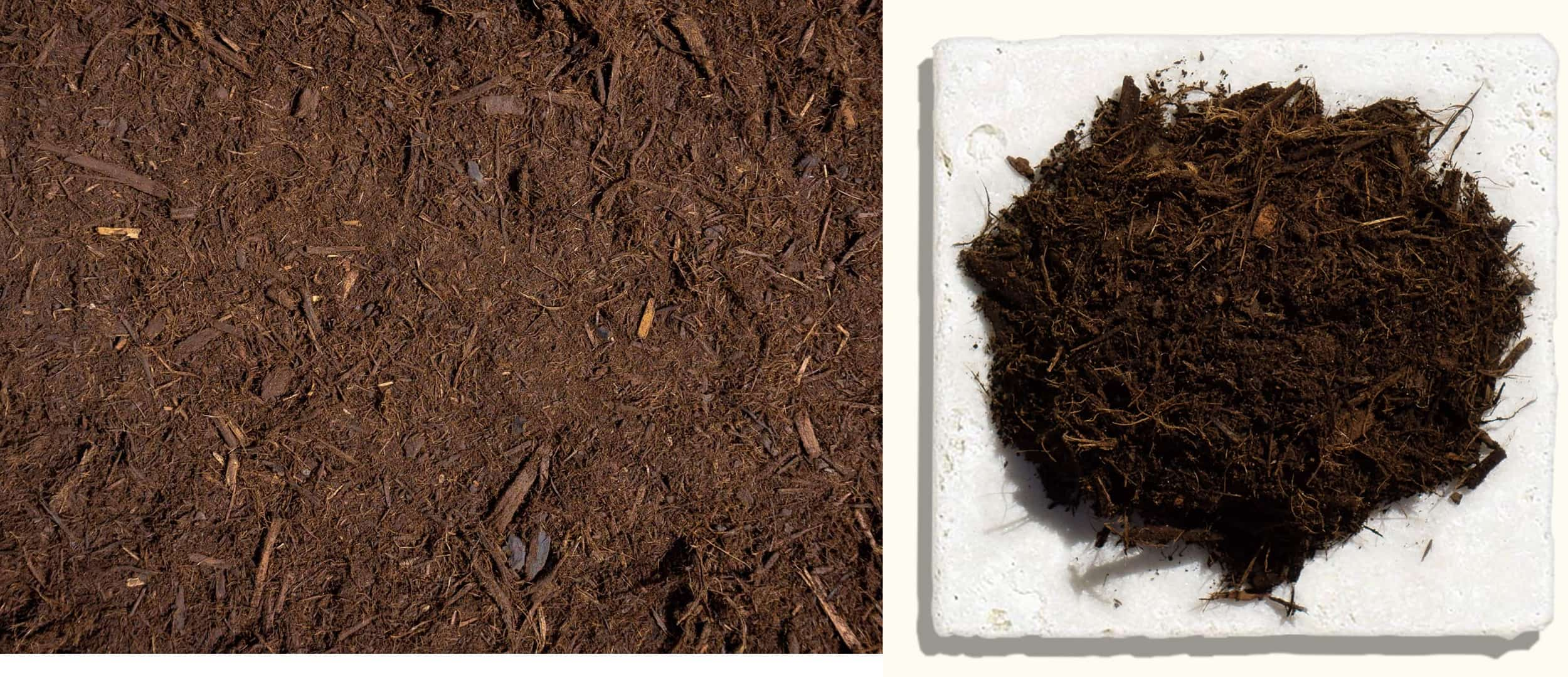 Premium Shredded Hardwood Bark Mulch $43.99 $45.99 $45.99 - Made from only the bark of hardwood logs. This mulch is processed two times and has a shredded look to it. This mulch binds together well keeping it in place for a long time. Our premium grade hardwood bark mulch is double processed and screened for size.Hardwood bark is a lightweight material that is easy to handle and provides year-round benefits to all types of plantings. It naturally decomposes, providing valuable nutrients to surrounding plants.