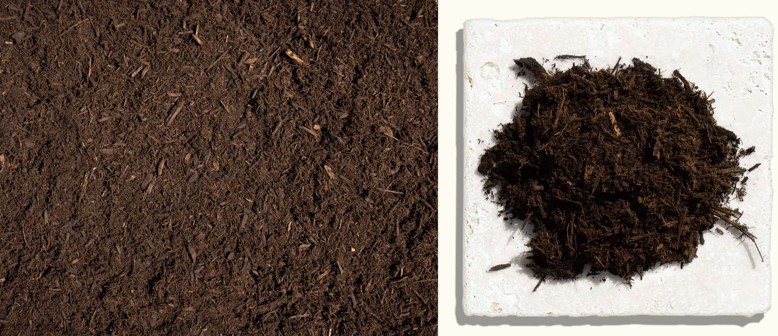 Triple Ground Mulch $33.99 $35.99 $35.99 - This mulch is similar to our Double Ground Mulch, except it is processed a third time to make it much finer. This is commonly used in annual and perennial beds.
