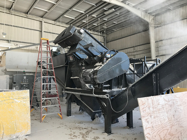 T30 Dry System for Gypsum Recycling