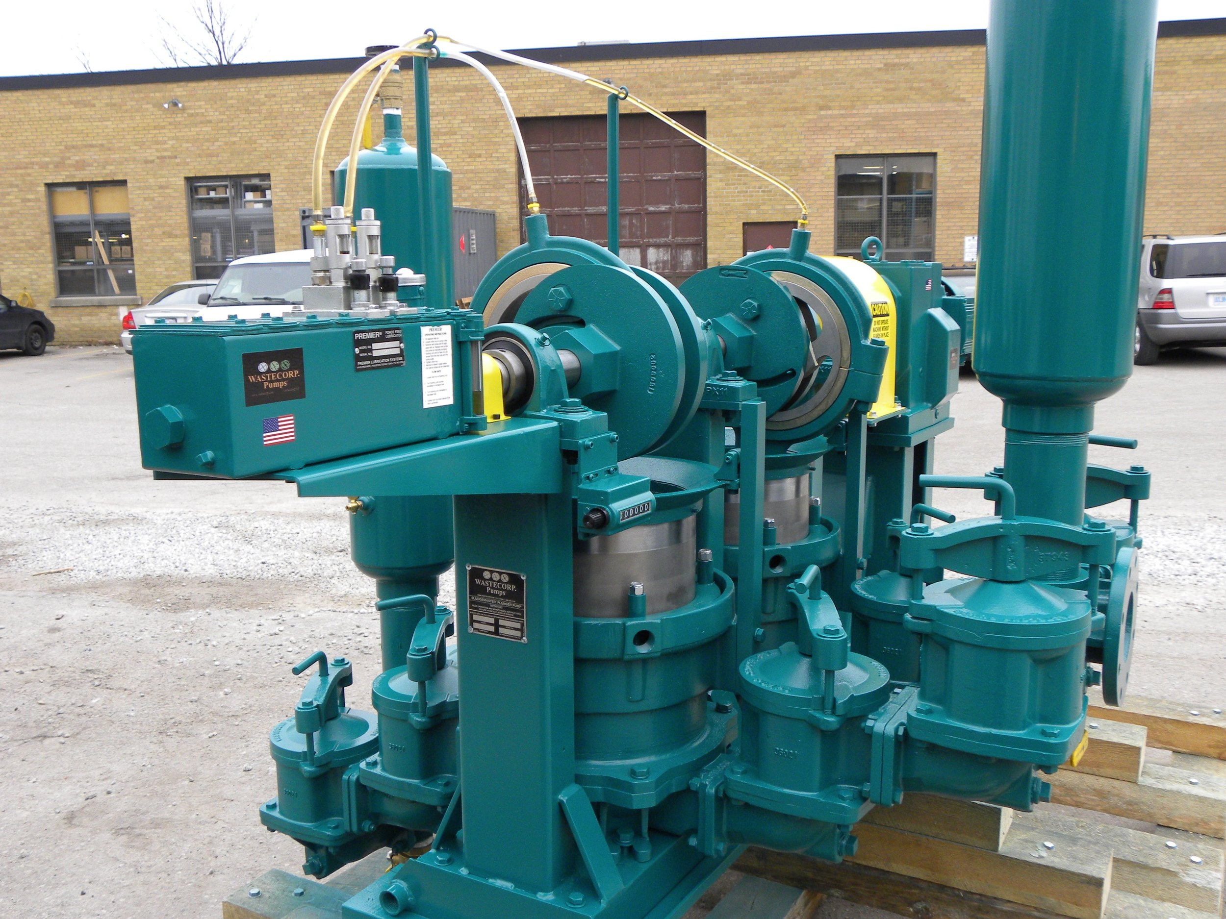 HEAVY DUTY PROGRESSIVE CAVITY PISTON PUMPS  For customers that are focusing on producing an organic slurry, we provide a variety of pumping options for you to choose from. We can assist in pump