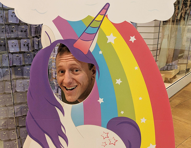 Nick Imerman - Designer / Sir PrancingtonNick has an associate degree in Graphic Design from DMACC. He has a knack for concepting, building out ideas, and making really excellent dad-joke puns. Nick enjoys skateboarding, going to the gym, Pokémon Go, eating Thelma's cookies, and spending time with his wife and their Instagram-famous pets.