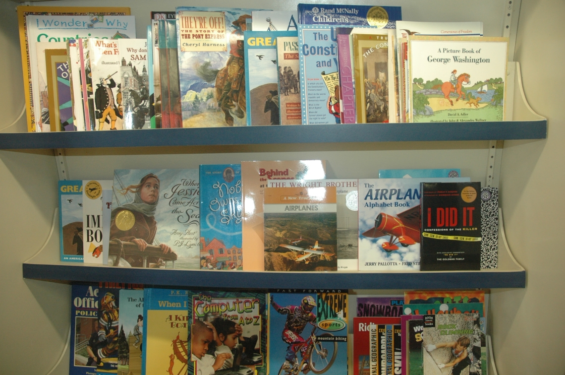 And some of the books hidden around the store . . .