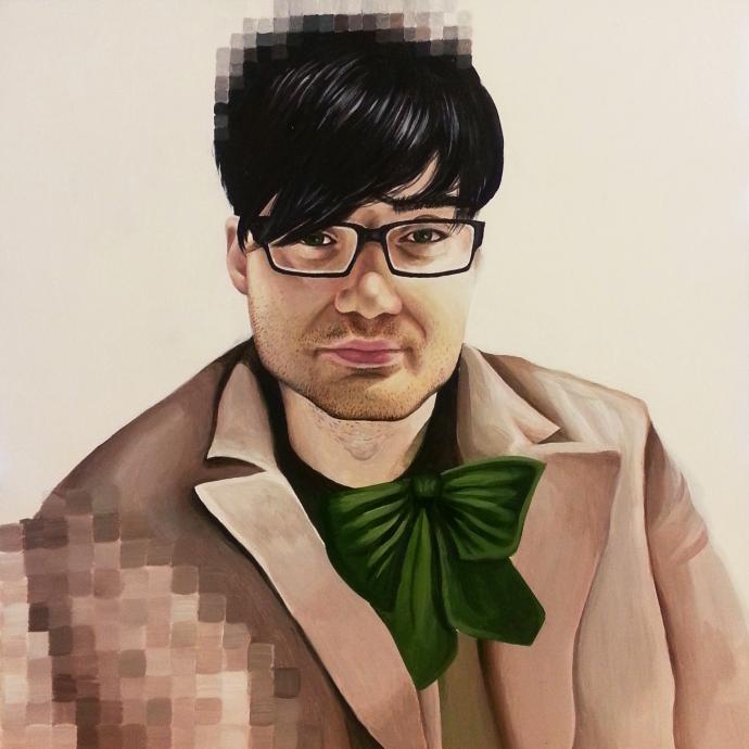 """Jake,"" part of my 2015 portrait series ""Selfierepresentation"""