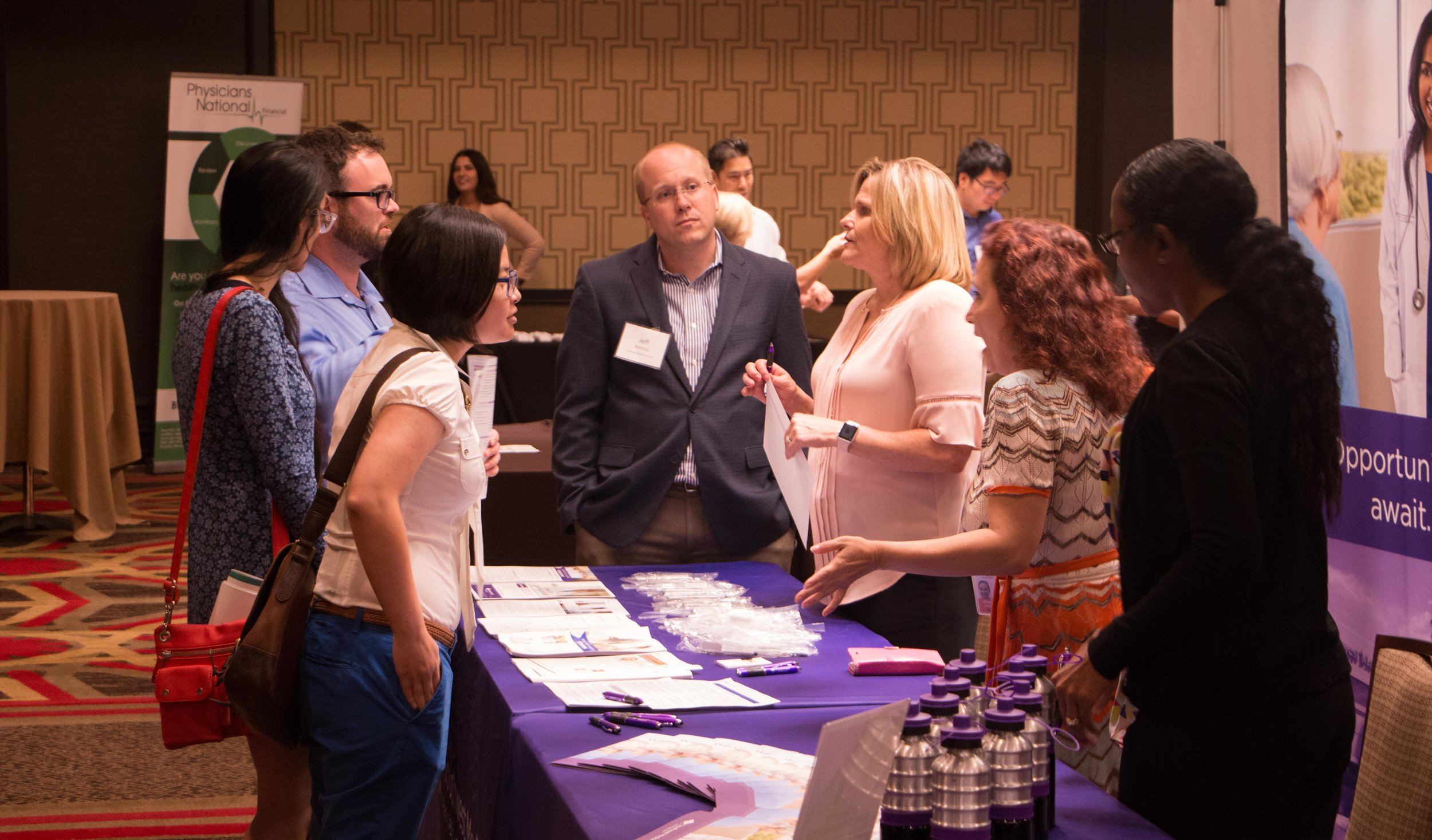 At the Resident Job Fair in August, local medical residents were given the opportunity to meet employers from across the Vegas Valley