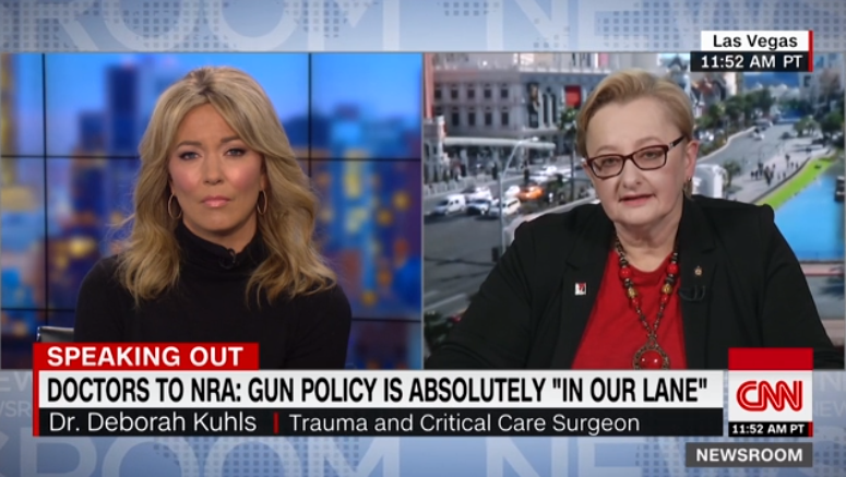 Dr. Deborah Kuhls on CNN 11/20/18