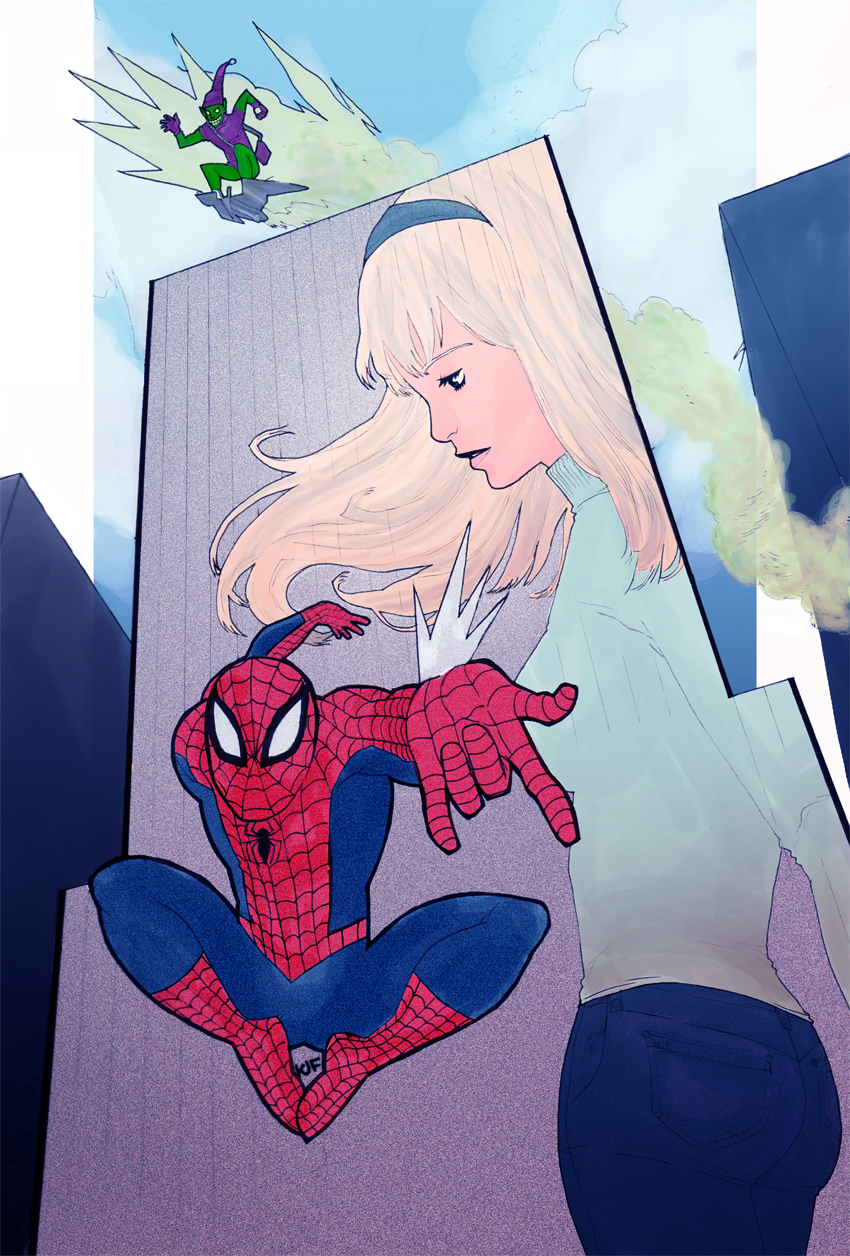 """Spider-Man, commission"" 2011"