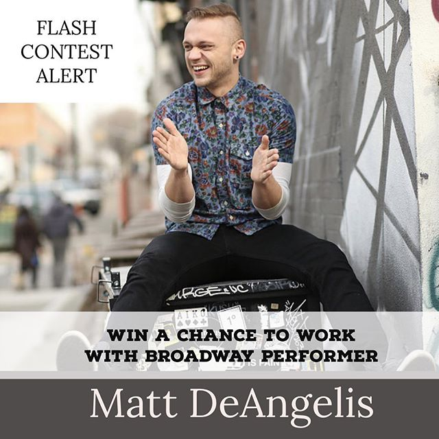 CONTEST ALERT to perform in the Masterclass with Matt DeAngelis. This Saturday August 17th. 2pm-6pm. Deadline Thursday at 10am.  Rules To Enter:  1. Follow @bryantacademy on instagram.  2. Tag two friends you would attend this masterclass with on a comment on this post. 3. Shoutout @bryantacademy onto your story. G O O D  L U C K * * #musicaltheatre #torontotheatre #contest #happiness #toronto #torontoactor #professionalprogram #giveaway #audition
