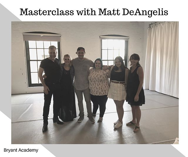 Big Thank you to @mattdeangelis22 for coming to work with all these artist. Sorry for those who misses the photo. * * * * #toronto #masterclass #newyork #artist #torontoactor