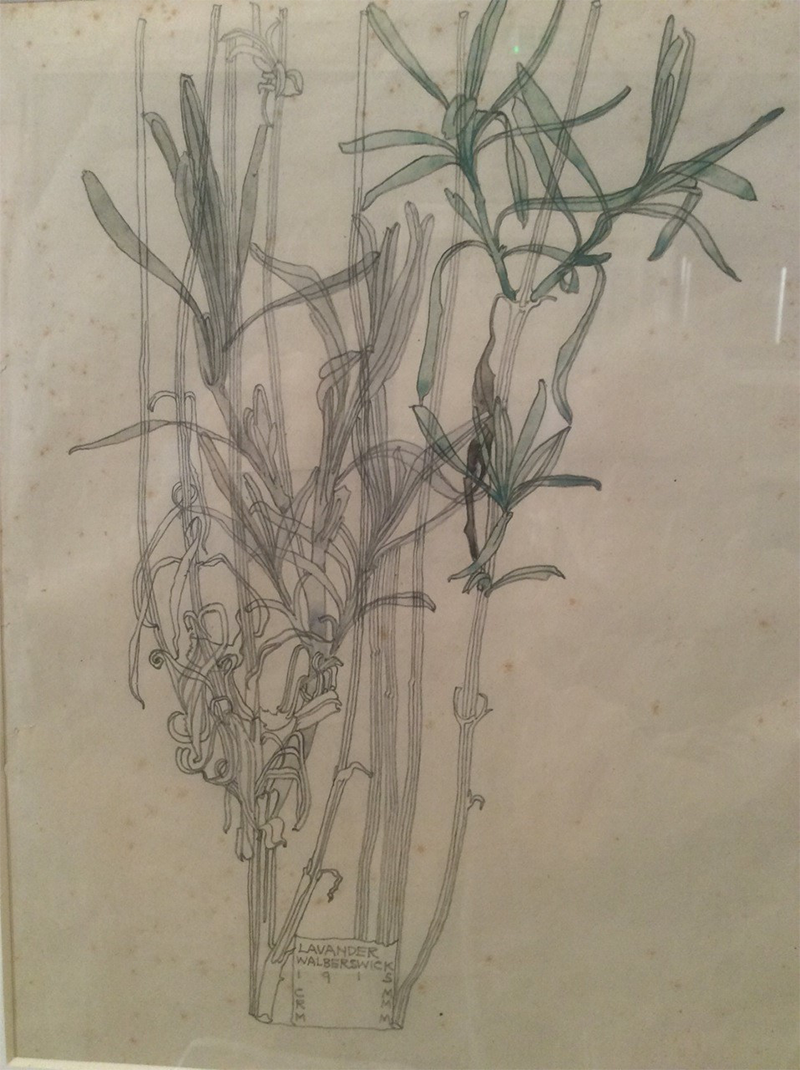 Detail - Lavander, Walberswick 1915 CRM