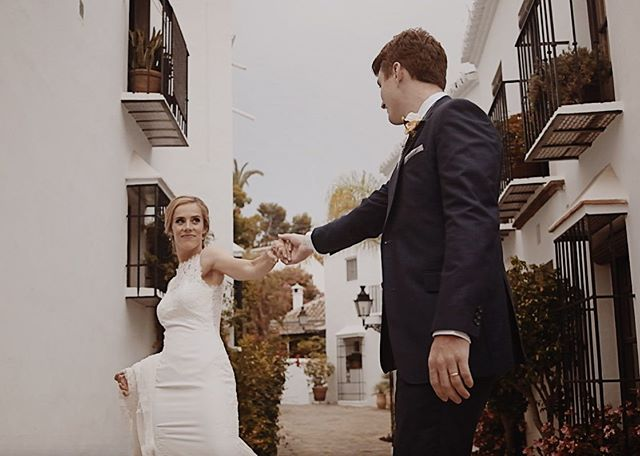 Ty & Ro ❤️❤️❤️ This past week was nothing short of amazing and I'm so happy for these two wonderful people!  #spain #marbella #love #couple #wedding #film #weddingfilm #bride #weddinginspiration #destination #destinationwedding #dance #dancing