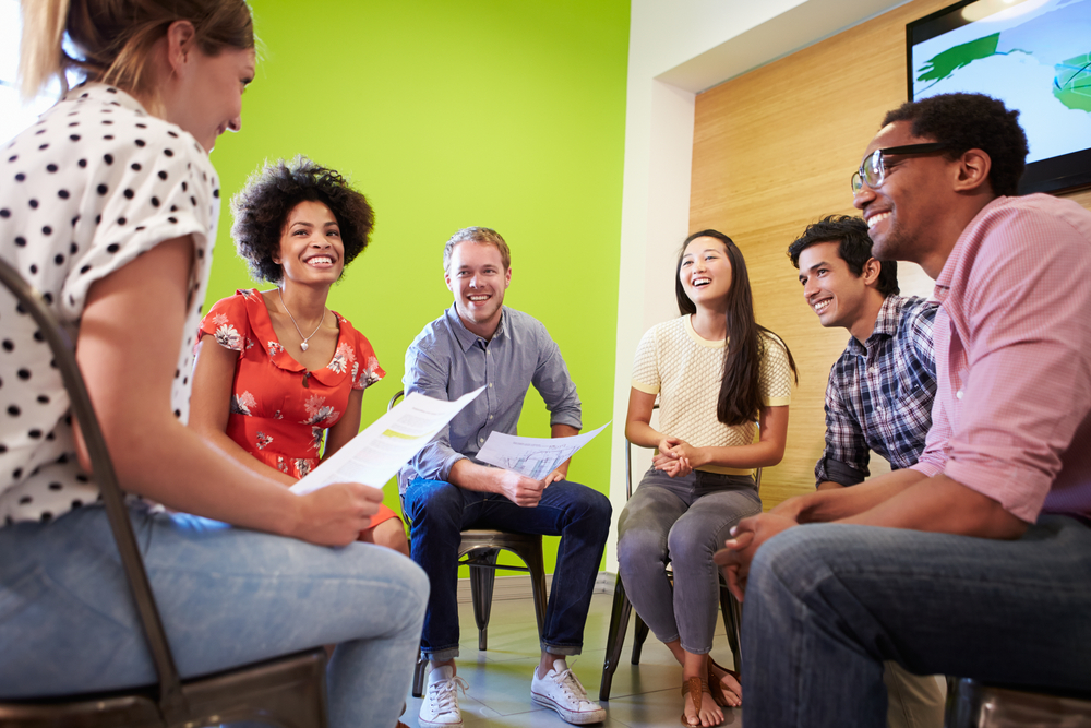 Being effective in group discussion