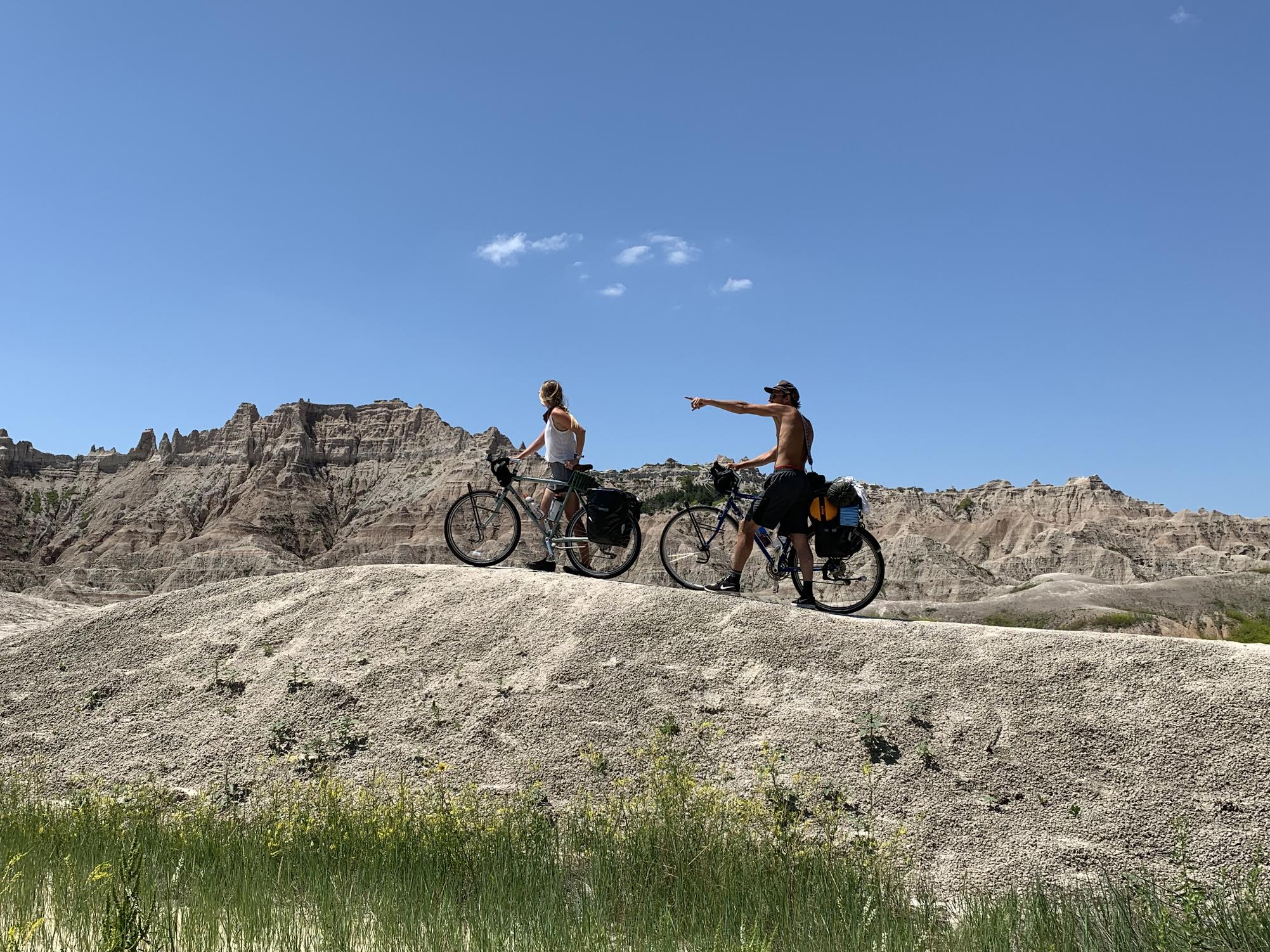 CYCLING THE USA - Live Alive is the unraveling story of how we quit our jobs, packed our lives onto our bicycles, and hit the open road on a mission to better ourselves while experiencing a life rich with raw, rugged, & gritty adventure.