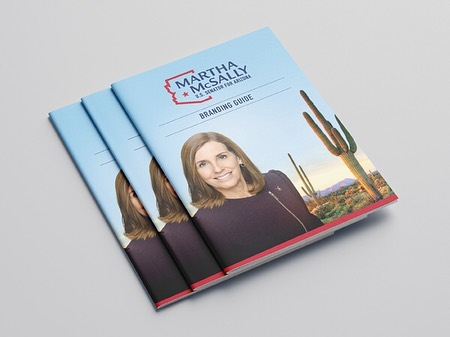 Was blessed to have the opportunity to design the official logo and brand for the US Senator of Arizona, Martha McSally. It was a really fun project that I loved doing, and they loved receiving. They wanted a modern design that was elegant and incorporated the state of Arizona, and they ended up picking the design I liked the best on the first round (which rarely happens for us designers). And then I was able to create a brand guide and social media banners to be used as well.