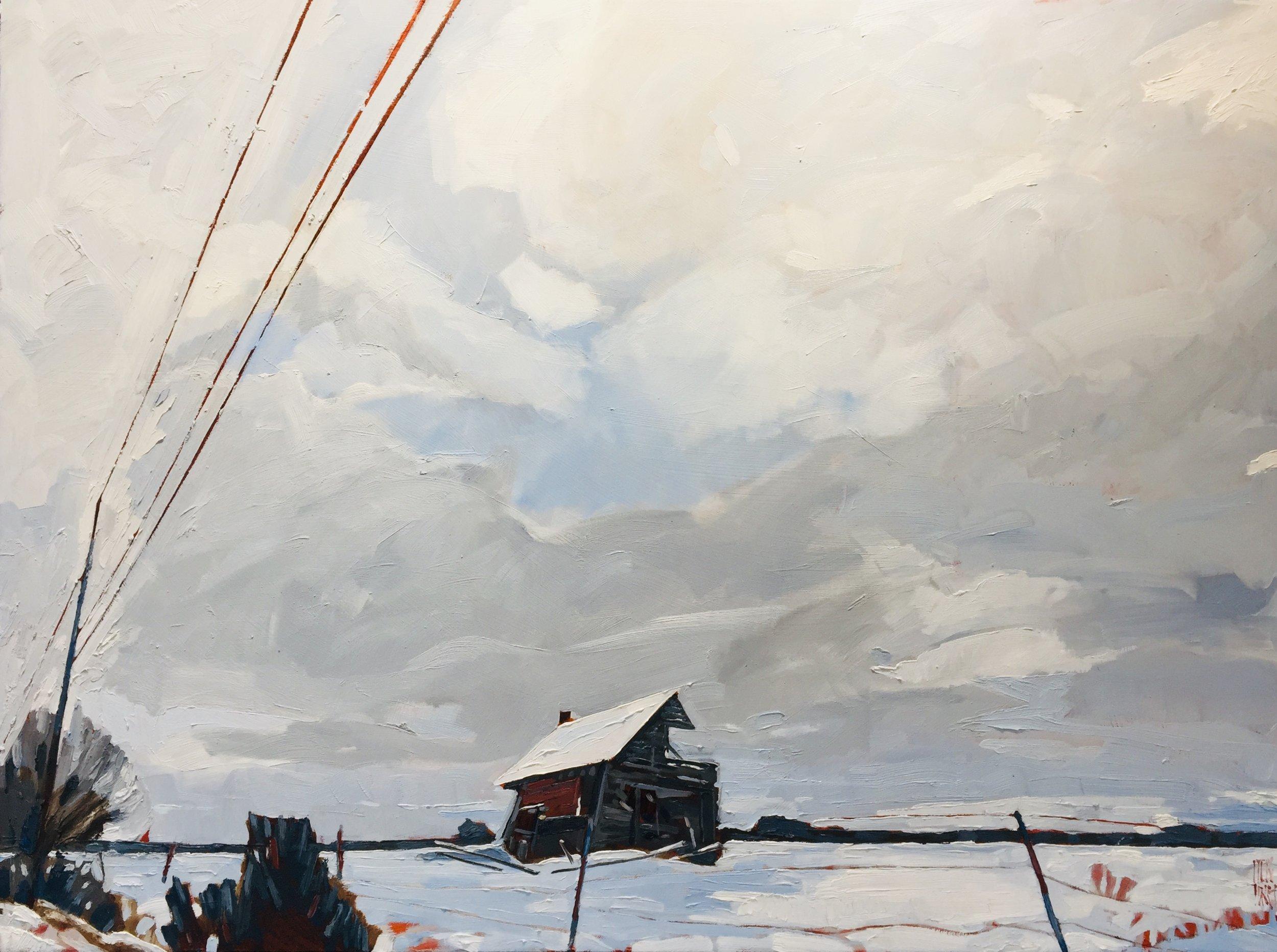 """Drifting Snow"" by Stewart Jones, 2019"