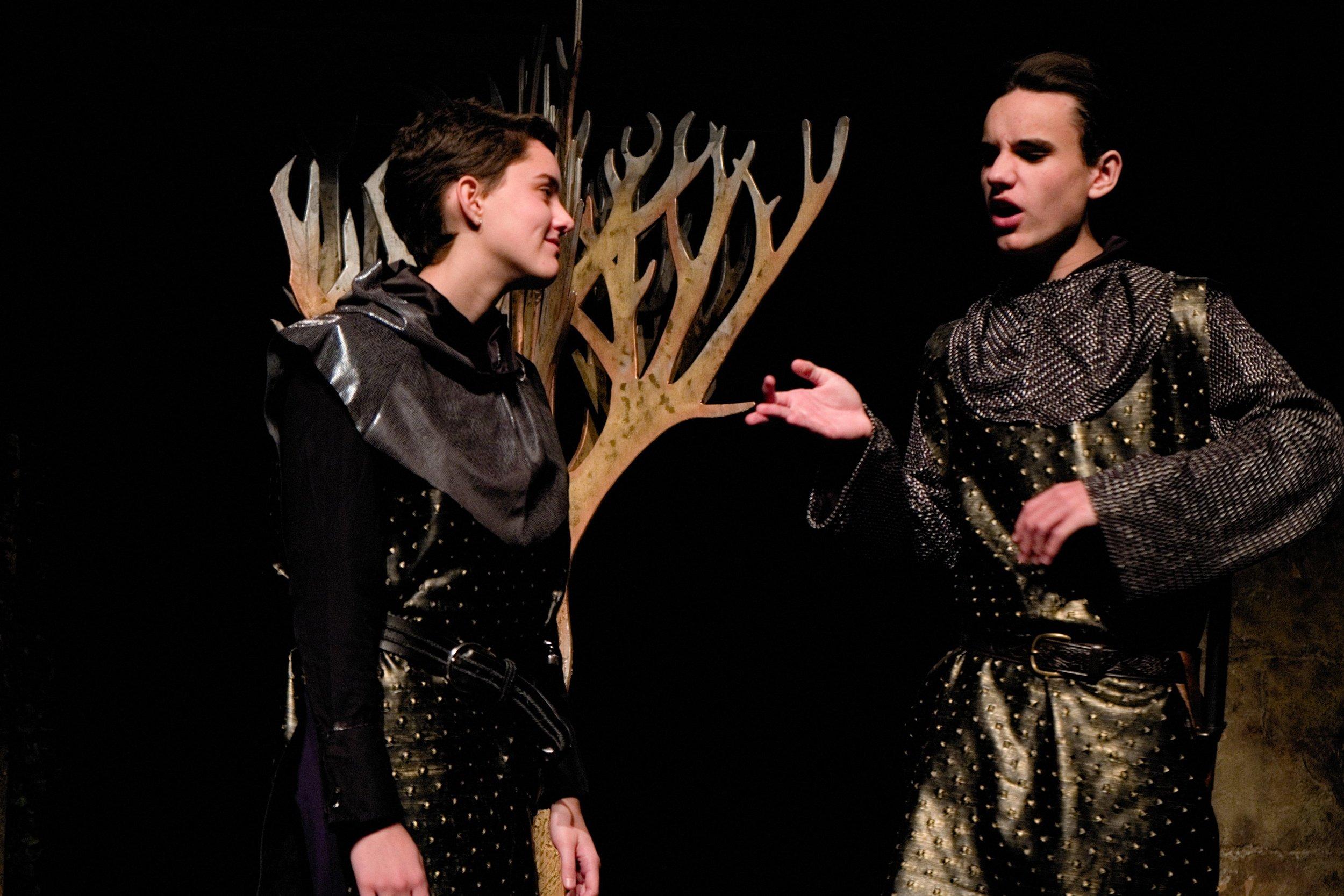 Macbeth Banquo:Macbeth roman.jpg