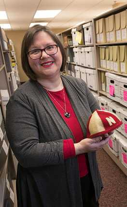 Rebecca Skirvin   Coordinator of Archives and Special Collections  North Central College