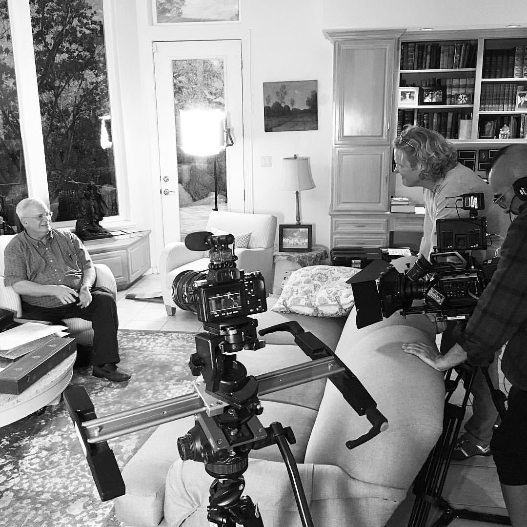 Filming Brent Ashworth