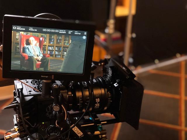 Filming Alvin Rust