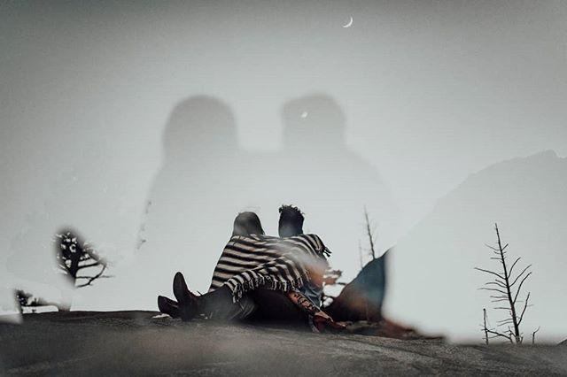 Double exposure for the 🌙  ƒ/1.4 ⇅1/150 35/85  #junebugweddings #lookslikefilm #tahoeunveiled #tahoeweddings #greenweddingshoes #laketahoephotographer #destinationphotographer #calvinhobsonphotography
