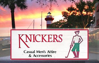 knickers   Phone: 843-671-2291   Fax: 843-671-5753  149 Lighthouse Road, Suite L Hilton Head Island, SC 29928 Harbour Town, Sea Pines Plantation
